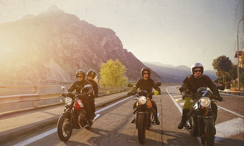 Moto Guzzi Lake to Lake Tour